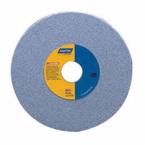 Norton® Quantum™ 66253364101 5SG Straight Toolroom Wheel, 14 in Dia x 1-1/2 in THK, 5 in Center Hole, 60 Grit, Ceramic Alumina Abrasive