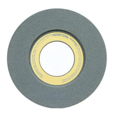 Norton® 66253364328 39C 1-Side Recessed Toolroom Wheel, 14 in Dia x 1-1/2 in THK, 5 in Center Hole, 60 Grit, Silicon Carbide Abrasive