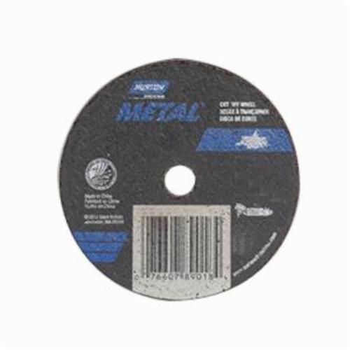 Norton® Metal RightCut™ 66253370222 CO4504M All Purpose Small Diameter Cut-Off Wheel, 4-1/2 in Dia x 0.04 in THK, 7/8 in Center Hole, 60 Grit, Aluminum Oxide Abrasive