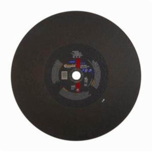 Norton® Gemini® 66253410185 57A Free Cut Cut-Off Wheel, 18 in Dia x 5/32 in THK, 1 in Center Hole, 30 Grit, Aluminum Oxide Abrasive