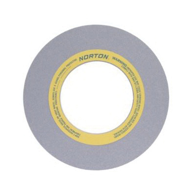 Norton® 66253464826 32A Straight Surface and Cylindrical Grinding Wheel, 16 in Dia x 1 in THK, 8 in Center Hole, 60 Grit, Aluminum Oxide Abrasive