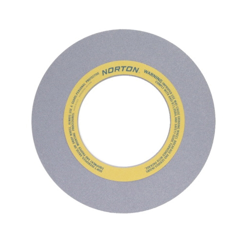 Norton® 66253464836 32A Straight Surface and Cylindrical Grinding Wheel, 16 in Dia x 1 in THK, 5 in Center Hole, 60 Grit, Aluminum Oxide Abrasive