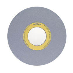 Norton® 66253464925 32A Straight Surface and Cylindrical Grinding Wheel, 16 in Dia x 1-1/2 in THK, 5 in Center Hole, 46 Grit, Aluminum Oxide Abrasive
