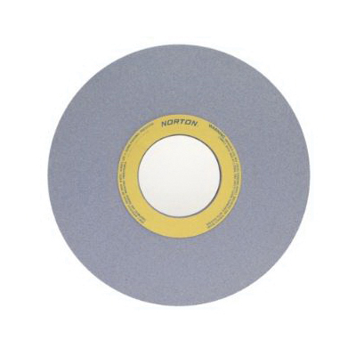 Norton® 66253465110 32A 2-Side Recessed Surface and Cylindrical Grinding Wheel, 18 in Dia x 2 in THK, 8 in Center Hole, 46 Grit, Aluminum Oxide Abrasive