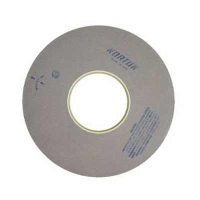Norton® 66253466719 64A Surface and Cylindrical Grinding Wheel, 18 in Dia x 2 in THK, 5 in Center Hole, 60 Grit, Aluminum Oxide Abrasive