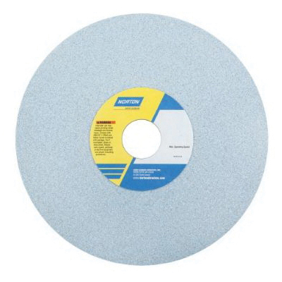 Norton® 66253467007 5SG Straight Surface and Cylindrical Grinding Wheel, 16 in Dia x 1 in THK, 5 in Center Hole, 60 Grit, Ceramic Alumina Abrasive