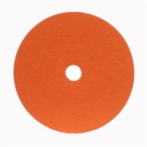 Norton® Metalite® 66254400688 F220 Heavy Duty Coated Abrasive Disc, 5 in Dia, 7/8 in Center Hole, 50 Grit, Coarse Grade, Aluminum Oxide Abrasive, Center Mount Attachment