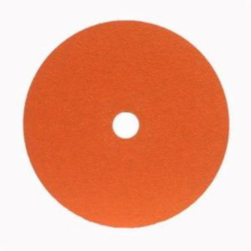 Norton® Metalite® 66254400698 F220 Heavy Duty Coated Abrasive Disc, 4-1/2 in Dia, 7/8 in Center Hole, 60 Grit, Medium Grade, Aluminum Oxide Abrasive, Center Mount Attachment