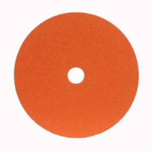 Norton® Metalite® 66254400703 F220 Heavy Duty Coated Abrasive Disc, 7 in Dia, 7/8 in Center Hole, 50 Grit, Coarse Grade, Aluminum Oxide Abrasive, Center Mount Attachment