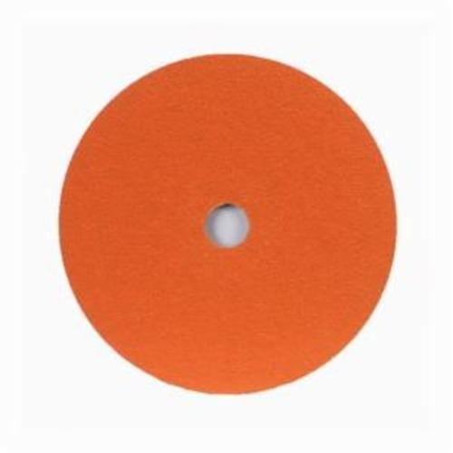 Norton® Metalite® 66254400704 F220 Heavy Duty Coated Abrasive Disc, 7 in Dia, 7/8 in Center Hole, 60 Grit, Medium Grade, Aluminum Oxide Abrasive, Center Mount Attachment