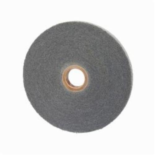 Norton® Bear-Tex® 66254403708 Convolute Non-Woven Abrasive Wheel, 6 in Dia, 1 in Center Hole, 1 in W Face, Fine Grade, Silicon Carbide Abrasive