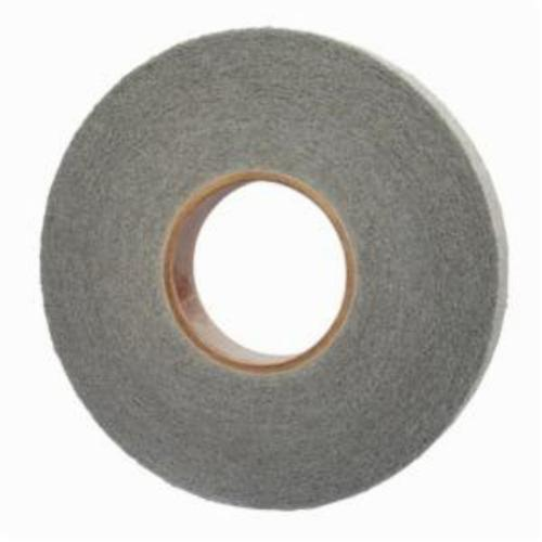 Norton® Bear-Tex® 66254409924 Convolute Non-Woven Abrasive Wheel, 8 in Dia, 3 in Center Hole, 1 in W Face, Fine Grade, Silicon Carbide Abrasive