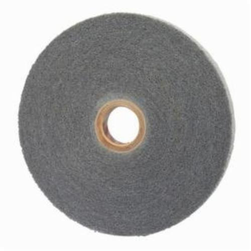 Norton® Bear-Tex® 66254421572 Convolute Non-Woven Abrasive Wheel, 6 in Dia, 1 in Center Hole, 1/2 in W Face, Fine Grade, Silicon Carbide Abrasive