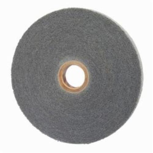 Norton® 66254421574 Convolute Non-Woven Abrasive Wheel, 12 in Dia, 5 in Center Hole, 1 in W Face, Fine Grade, Silicon Carbide Abrasive
