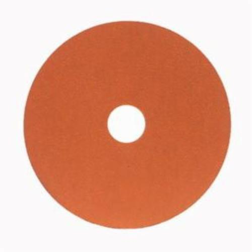 Norton® Blaze® 66254425332 SG F980 Heavy Duty Coated Abrasive Disc, 4-1/2 in Dia, 7/8 in Center Hole, 120 Grit, Fine Grade, Premium Ceramic Alumina Abrasive, Center Mount Attachment