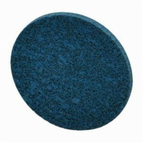 Norton® Bear-Tex® Rapid Blend™ Vortex® 66254433509 Quick-Change Non-Woven Unified Wheel, 2 in Dia, 1/8 in W Face, Medium Grade, Aluminum Oxide Abrasive