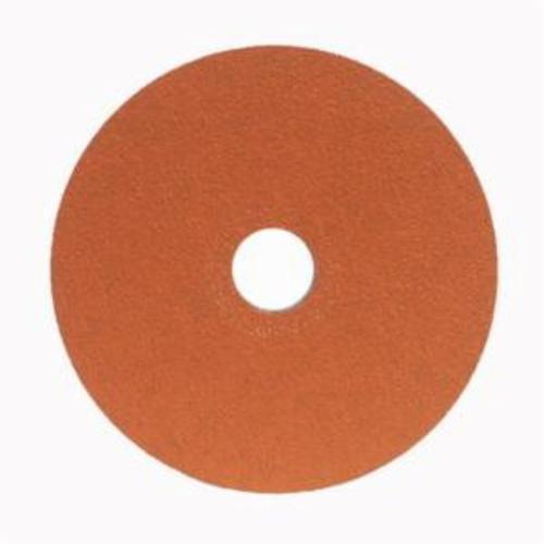 Norton® Blaze® 66254464820 SG F980 Heavy Duty Coated Abrasive Disc, 5 in Dia, 7/8 in Center Hole, 50 Grit, Coarse Grade, Premium Ceramic Alumina Abrasive, Center Mount Attachment