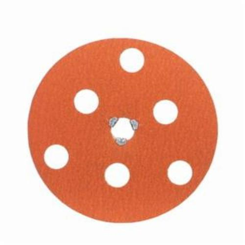 Norton® AVOS® Blaze® Speed-Lok® 66254468382 F980 Heavy Duty Quick-Change Coated Abrasive Disc, 7 in Dia Disc, 5/8-11 Center Hole, 36 Grit, Extra Coarse Grade, Premium Ceramic Alumina Abrasive, Speed-Lok Fastener Attachment