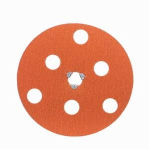 Norton® AVOS® Blaze® Speed-Lok® 66254468383 F980 Heavy Duty Quick-Change Coated Abrasive Disc, 7 in Dia Disc, 5/8-11 Center Hole, 50 Grit, Coarse Grade, Premium Ceramic Alumina Abrasive, Speed-Lok Fastener Attachment