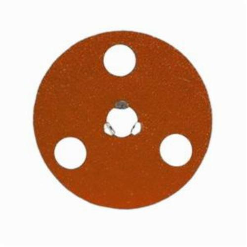 Norton® AVOS® Blaze® Speed-Lok® 66254468389 F980 Heavy Duty Quick-Change Coated Abrasive Disc, 4-1/2 in Dia Disc, 5/8-11 Center Hole, 24 Grit, Extra Coarse Grade, Premium Ceramic Alumina Abrasive, Speed-Lok Fastener Attachment