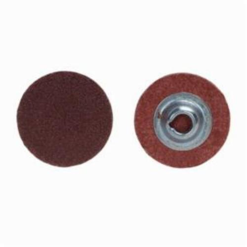 Norton® Metalite® 66254481704 R228 Coated Abrasive Quick-Change Disc, 3 in Dia, 120 Grit, Medium Grade, Aluminum Oxide Abrasive, Type TR (Type III) Attachment
