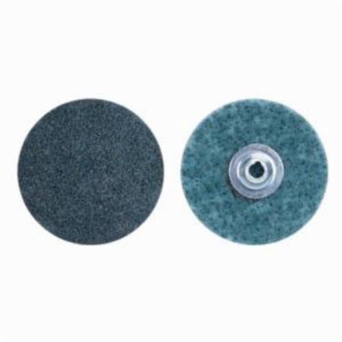 Norton® Bear-Tex® Rapid Prep™ 66254482335 Non-Woven Abrasive Quick-Change Disc, 1 in Dia, 150 Grit, Very Fine Grade, Aluminum Oxide Abrasive, Type TS (Type II) Attachment