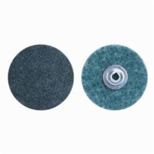 Norton® Bear-Tex® Rapid Prep™ 66254482336 Non-Woven Abrasive Quick-Change Disc, 1-1/2 in Dia, 150 Grit, Very Fine Grade, Aluminum Oxide Abrasive, Type TS (Type II) Attachment