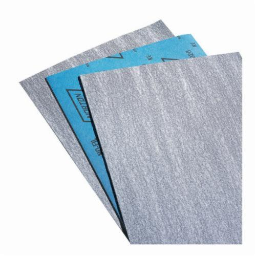 Norton® Durite® No-Fil® 66254487395 A475 Coated Sandpaper Sheet, 11 in L x 9 in W, P120 Grit, Medium Grade, Silicon Carbide Abrasive, Paper Backing