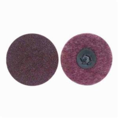 Norton® Rapid Prep™ 66254498520 Non-Woven Abrasive Quick-Change Disc, 2 in Dia, 150 Grit, Medium Grade, Aluminum Oxide Abrasive, Type TP (Type I) Attachment