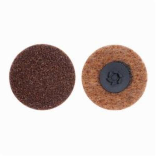 Norton® Rapid Prep™ 66254498593 Non-Woven Abrasive Quick-Change Disc, 2 in Dia, 80 Grit, Coarse Grade, Aluminum Oxide Abrasive, Type TP (Type I) Attachment