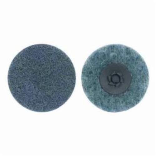 Norton® Rapid Prep™ 66254498594 Non-Woven Abrasive Quick-Change Disc, 2 in Dia, 220 Grit, Very Fine Grade, Aluminum Oxide Abrasive, Type TP (Type I) Attachment