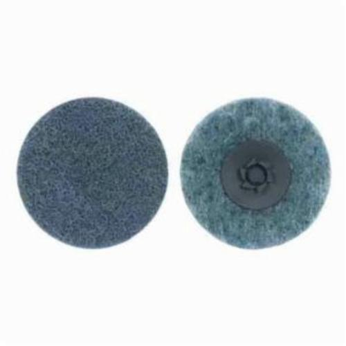Norton® Rapid Prep™ 66254498597 Non-Woven Abrasive Quick-Change Disc, 3 in Dia, 360 Grit, Very Fine Grade, Aluminum Oxide Abrasive, Type TP (Type I) Attachment