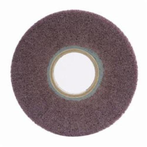 Norton® Bear-Tex® 66261000889 Non-Woven Flap Wheel, 8 in Dia, 2 in W Face, 120 Grit, Medium Grade, Aluminum Oxide Abrasive