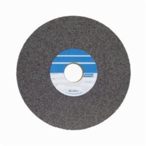 Norton® Bear-Tex® 66261004123 4000 Convolute Non-Woven Abrasive Wheel, 8 in Dia, 3 in Center Hole, 1 in W Face, Fine Grade, Silicon Carbide Abrasive