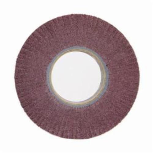Norton® Bear-Tex® 66261005070 Non-Woven Flap Wheel, 12 in Dia, 2 in W Face, 120 Grit, Medium Grade, Aluminum Oxide Abrasive