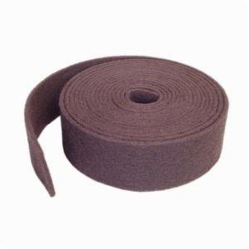 Norton® Bear-Tex® 66261005182 High Strength Non-Woven Abrasive Roll, 6 in W x 30 ft L, Medium Grade, Aluminum Oxide Abrasive