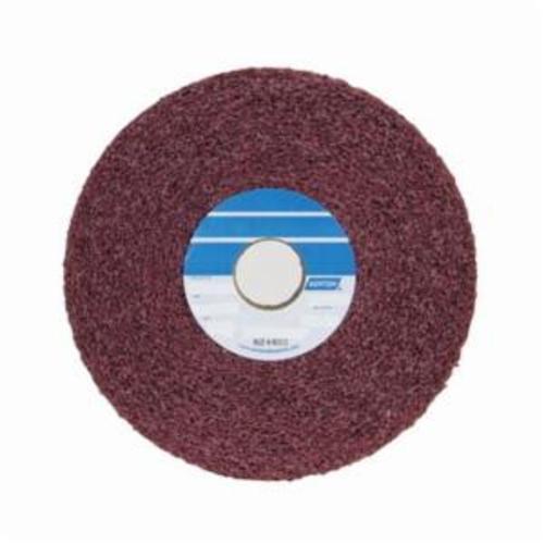 Norton® Bear-Tex® 66261007957 Convolute Non-Woven Abrasive Wheel, 6 in Dia, 1 in Center Hole, 2 in W Face, Medium Grade, Aluminum Oxide Abrasive