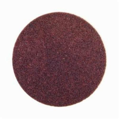 Norton® Bear-Tex® Speed-Lok® 66261008821 Non-Woven Abrasive Quick-Change Disc, 4 in Dia, 80 Grit, Medium Grade, Aluminum Oxide Abrasive, Type TR (Type III) Attachment
