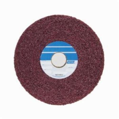 Norton® Bear-Tex® 66261009481 Convolute Non-Woven Abrasive Wheel, 12 in Dia, 5 in Center Hole, 1 in W Face, Medium Grade, Aluminum Oxide Abrasive