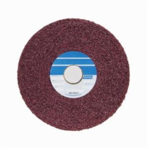 Norton® Bear-Tex® 66261009635 Convolute Non-Woven Abrasive Wheel, 6 in Dia, 1 in Center Hole, 2 in W Face, Medium Grade, Aluminum Oxide Abrasive