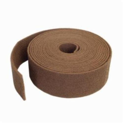 Norton® Bear-Tex® 66261010081 740 Heavy Duty Non-Woven Abrasive Roll, 4 in W x 30 ft L, 100 to 150 Grit, Medium Grade, Aluminum Oxide Abrasive