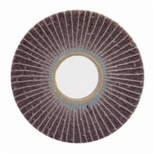 Norton® Bear-Tex® 66261010712 Unmounted Non-Woven Flap Wheel, 12 in Dia, 1 in W Face, 80 Grit, Medium Grade, Aluminum Oxide Abrasive