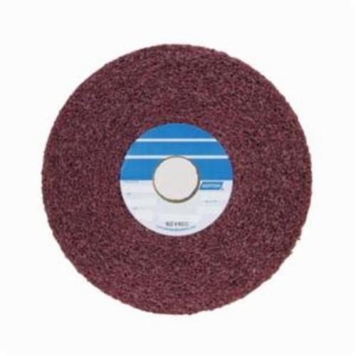 Norton® Bear-Tex® 66261012971 Convolute Non-Woven Abrasive Wheel, 8 in Dia, 3 in Center Hole, 2 in W Face, Medium Grade, Aluminum Oxide Abrasive