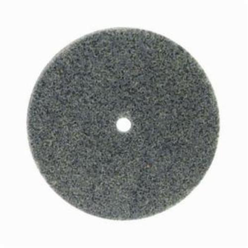 Norton® Bear-Tex® NEX™ Rapid Blend™ 66261014885 Non-Woven Unified Wheel, 3 in Dia, 1/4 in Center Hole, 1/2 in W Face, Fine Grade, Silicon Carbide Abrasive