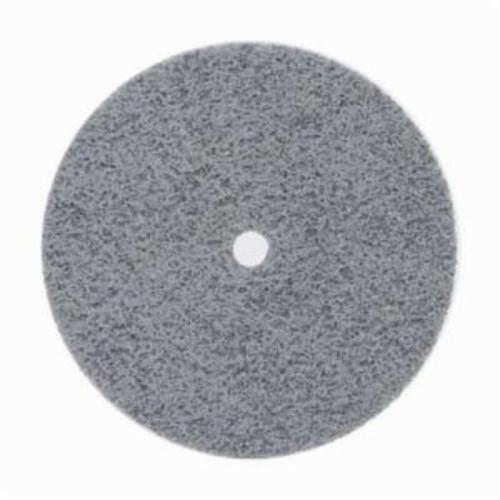 Norton® Bear-Tex® NEX™ Rapid Blend™ 66261014887 Non-Woven Unified Wheel, 3 in Dia, 3/8 in Center Hole, 1/4 in W Face, Fine Grade, Silicon Carbide Abrasive