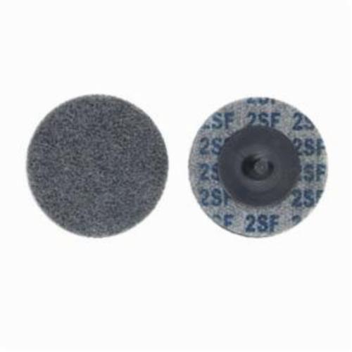 Norton® Bear-Tex® Rapid Blend™ 66261014889 Quick-Change Non-Woven Unified Wheel, 2 in Dia, 1/8 in W Face, Fine Grade, Silicon Carbide Abrasive