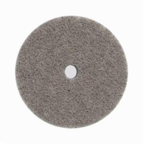 Norton® Bear-Tex® NEX™ Rapid Blend™ 66261014899 Non-Woven Unified Wheel, 3 in Dia, 3/8 in Center Hole, 1/4 in W Face, Fine Grade, Aluminum Oxide Abrasive