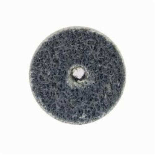 Norton® Bear-Tex® NEX™ Rapid Blend™ 66261014901 Non-Woven Unified Wheel, 2 in Dia, 1/4 in Center Hole, 1/4 in W Face, Fine Grade, Aluminum Oxide Abrasive