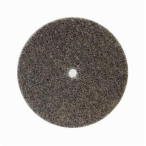 Norton® Bear-Tex® NEX™ Rapid Blend™ 66261014920 Non-Woven Unified Wheel, 3 in Dia, 3/8 in Center Hole, 1/4 in W Face, Coarse Grade, Aluminum Oxide Abrasive