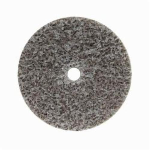 Norton® Bear-Tex® NEX™ Rapid Blend™ 66261014925 Non-Woven Unified Wheel, 2 in Dia, 1/4 in Center Hole, 1/2 in W Face, Medium Grade, Aluminum Oxide Abrasive